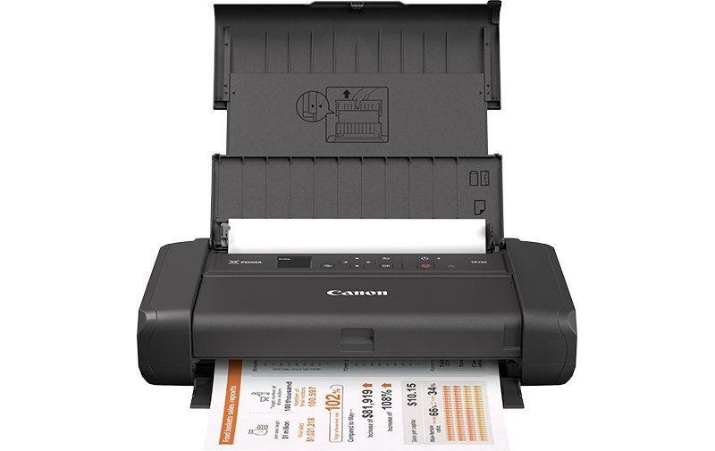 Canon PIXMA TR150 su akumuliatoriumi