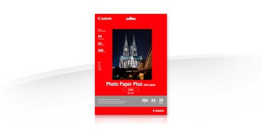 Canon fotopopierius SG-201 A4 20 lapų
